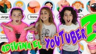 ADIVINA EL YOUTUBER Challenge 😱 Reto con mis amigas y bailes de moda - Silvia Sánchez