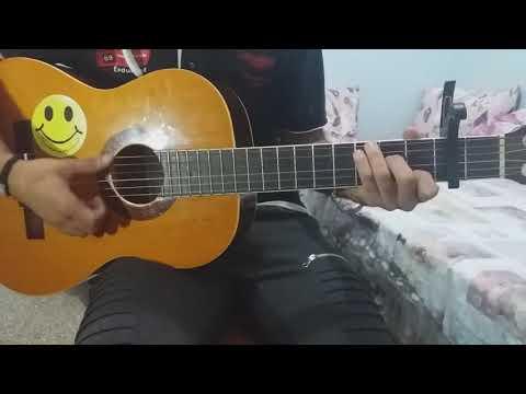 تعليم اغنية لمن نشكي لسعد المجرد جيتار lesson guitar lemen nechki Saad lamjared