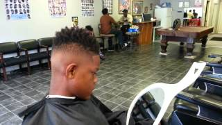 Transformation Nappy hitop fade/nappy hightop fade