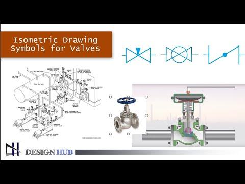 Isometric Drawing Symbols For Valves |Design Hub|