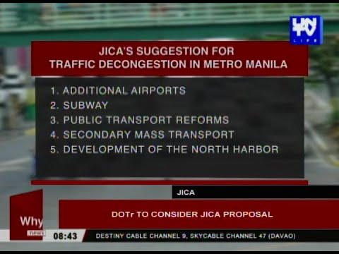 DOTr to consider JICA proposal