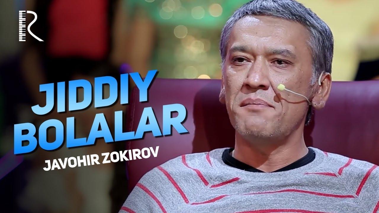 Jiddiy Bolalar - Javohir Zokirov bolalarni  urushib berdi