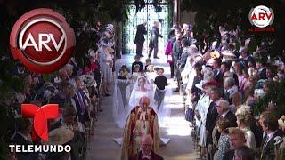 Así fue la llegada de Meghan Markle y el Príncipe Harry al Castillo de Windsor | Al Rojo Vivo