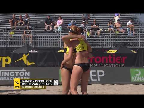 2018 FIVB Huntington Beach Open: Mccolloch/Urango vs. Hochevar/Claes