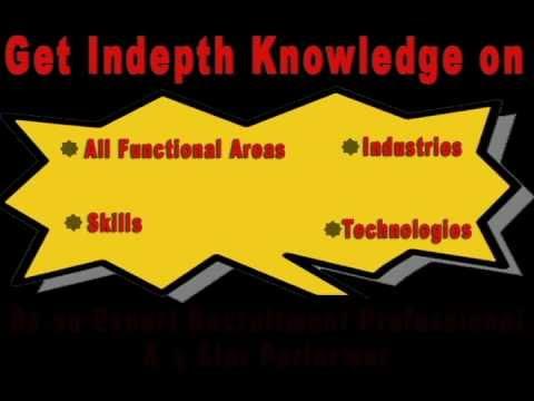 HR Career- Recruitment Training Course India, Mukul Certified, Delhi, Pune, Mumbai, Bangalore, Video