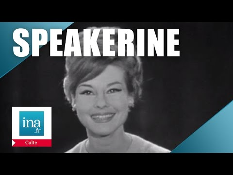 Speakerine 1956 Denise Fabre | Archive INA