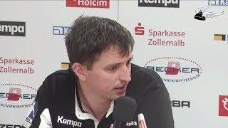 Pressekonferenz zum Spiel HBW - HSG Konstanz