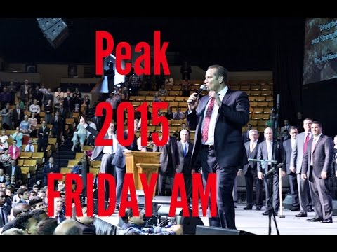 PEAK 2015 Friday AM Joel Booker