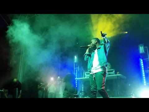 Epic Records Artist Nick Grant Performs At Beats -N -Bars Festival