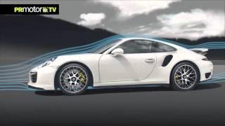 Porsche 911 Turbo S - La Revolución Aerodinámica - Car News TV en PRMotor TV Channel