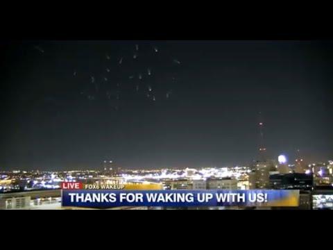 Mysterious Lights Shown On FOX6 News Milwaukee. February 27, 2018