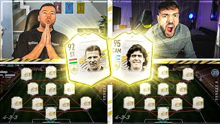 FIFA 21: FULL ICON SQUAD BUILDER BATTLE 🔥🔥