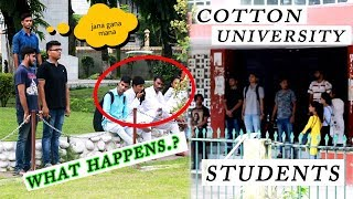 NATIONAL ANTHEM PLAYED AT UNUSUAL PLACES | 😱😱 shocking reactions | SOCIAL EXPERIMENT
