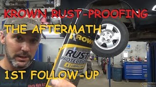 Krown Rust Proofing: The Aftermath 5 Months Later...
