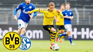 The last derby between borussia dortmund and fc schalke 04 was held under similar conditions as this time: hardly any spectators in stadium yet it is...