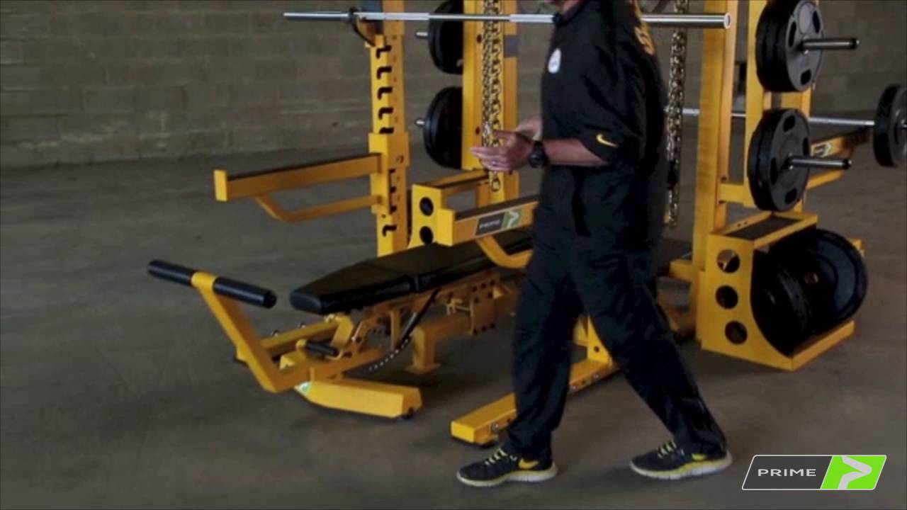 Pittsburgh Steelers Strength Coach on the PRIME Steel Rack
