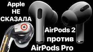 Apple AirPods Pro Обзор 2019! Сравнение 2 Против АирПодс. Обзор Презентации Apple