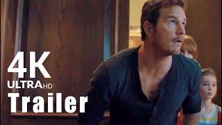 JURASSIC WORLD 2 [4K] | Featurette + New UHD Trailer Footage 2018 | Chris Pratt (Dinosaur Movie)