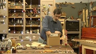 In this holiday themed video Paul Sellers give some advice on buying a new woodworker some basic tools. He shows how to ...