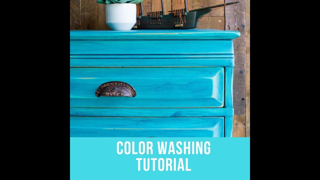 Colorwashing Paintedfurniture Colorwashingtechnique