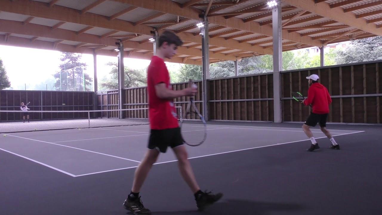 nouveaux cours de tennis : le plein dénergies