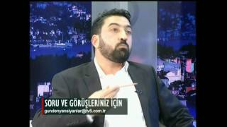 Milli gazete spor editörü İlhami Yetiş TV5'de