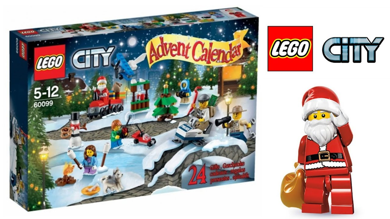 2020 Lego Advent Calendar Lego City Advent Calendar 2015   YouTube