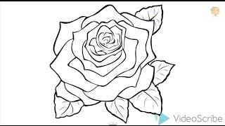 Как нарисовать розу карандашом, draw a rose(Роза - самый красивый цветок, но его сложнее всего рисовать. Смотрите видео и учитесь рисовать Розу самостоя..., 2015-01-05T13:02:21.000Z)