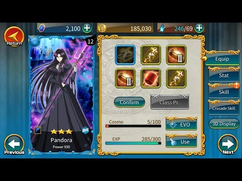 Guía Saint Seiya Zodiac Brave ; Pandora