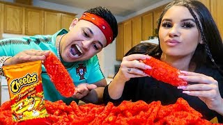 Cooking HOT CHEETOS ELOTES!! **MUKBANG**