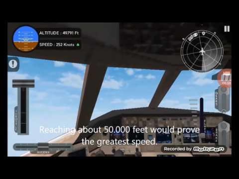 Avion Flight Simulator AIR SPEED RECORD