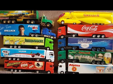 driving toy trucks for children - Play and Review with toy trucks