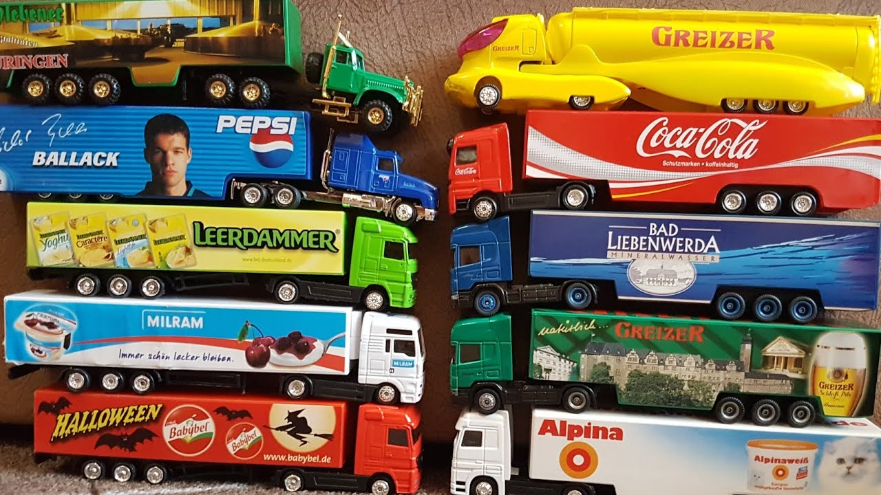 driving toy trucks for children - Play and Review with toy ...
