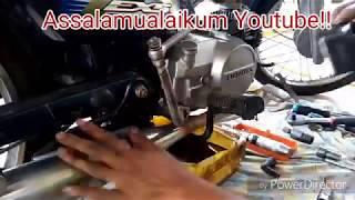 Vlog #6 *Time Lapsed* Tukar Clucth Honda Ex5 High Power