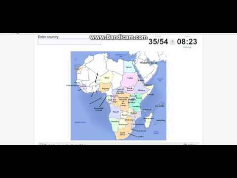 African Countries Quiz