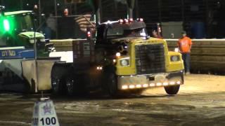 FPP,  Big Rig Semi's, Wayne County Speedway, Orrville, Oh, 6/6/15