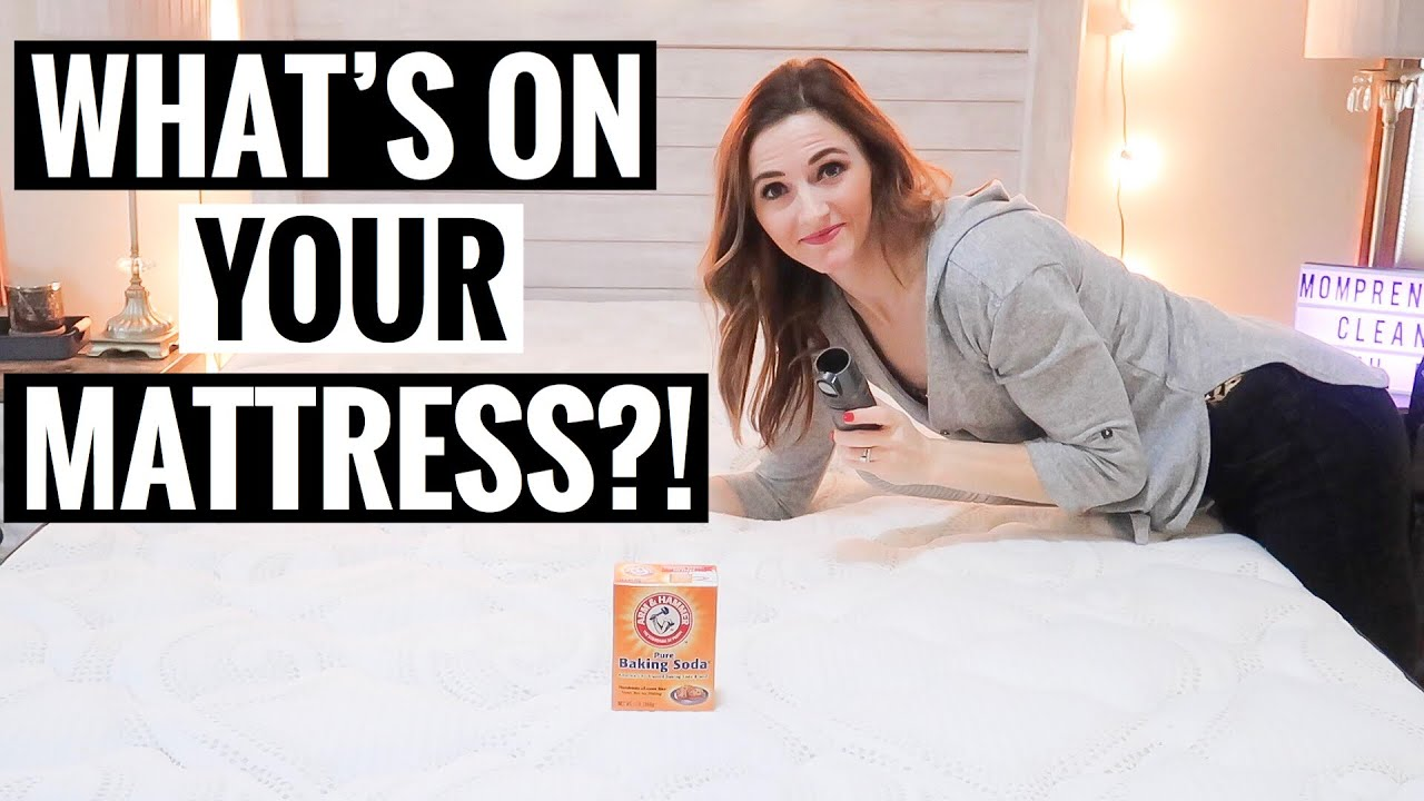 BAKING SODA FOR MATTRESS CLEANING  DIY MATTRESS CLEANER  ANDREA JEAN  SPRINT CLEAN WITH ME