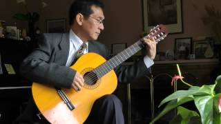 Dang Thao - Marriage d'Amour (Richard Clayderman) - Transcribed for Guitar by Nguyễn Đăng Thảo