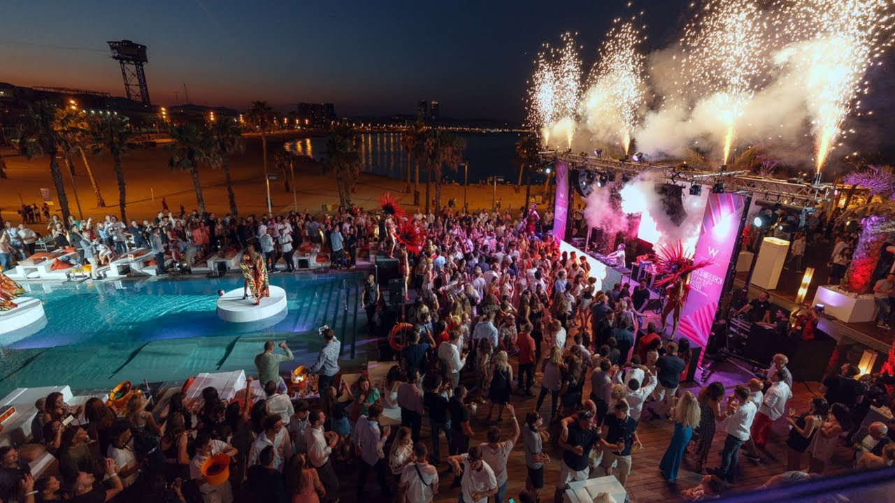 W Barcelona Wet Deck Summer Series 2017 Opening Party Youtube