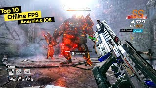 Top 10 OFFLINE FPS Games for Android 2020 | Top 10 Offline FPS Games for iOS #2