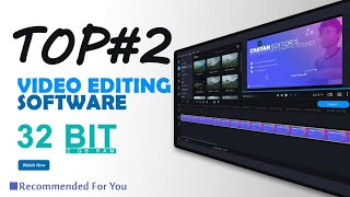 #TOP2 Video Editing Software|| 32 Bit || Recommended for Biggner Youtuber