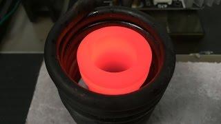 1000W Induction Heating Part 3: Melting Aluminum