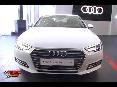 Audi Philippines Unveils The All New A4 -  Industry News