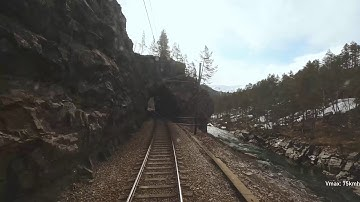 CAB VIEW: Live chat and Stream from the Bergen Line, Norway