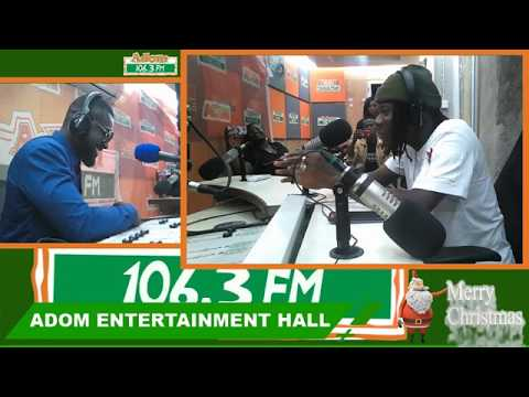 Exclusive Interview with Stonebwoy - Adom Entertainment Hall on Adom FM (22-12-18)