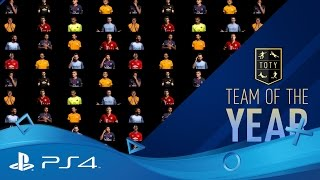 FIFA 17 | Ultimate Team - Team of the Year | PS4
