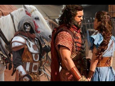 A terra Prometida, Últimos capítulos, Um Soldado Mascarado Aparece e salva Aruna com Josué