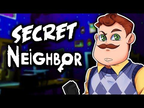 I'M THE NEIGHBOR NOW!!! | Secret Neighbor Multiplayer (Hello Neighbor) |