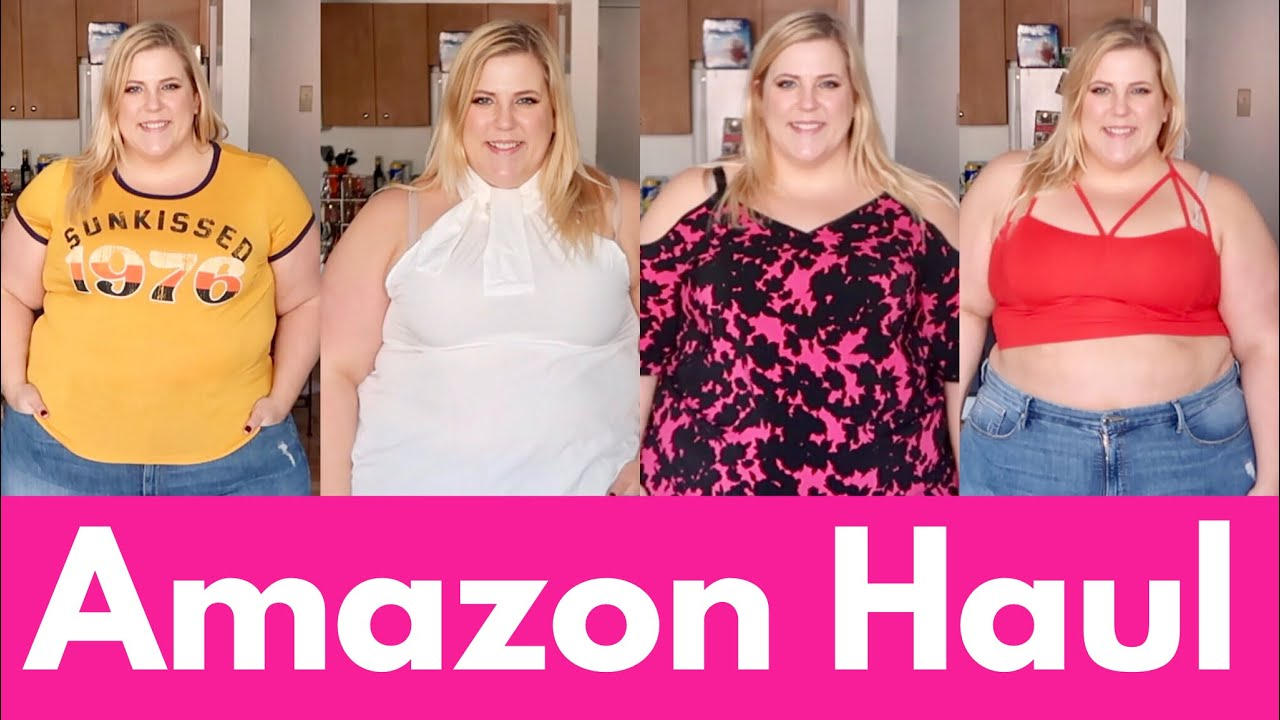 amazon-plus-size-haul-shirts-dresses-songs