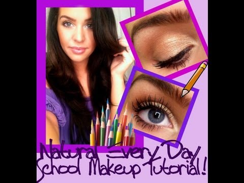 Every Day School Makeup